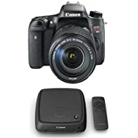 Canon EOS Rebel T6i DSLR with EF-S 18-135mm f/3.5-5.6 IS STM Lens and Canon Connect Station