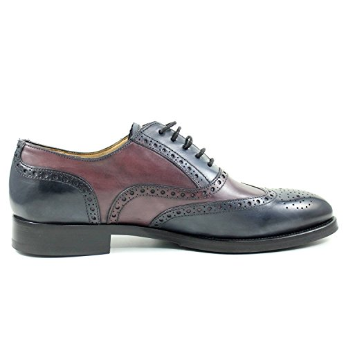 Giorgio Rea Mannen Schoenen Elegant Richelieu Cuir Classic Lace Up Echt Kalfslederen Oxfords Echte Gentlemen Brogue Lace Up Brogues Veelkleurige