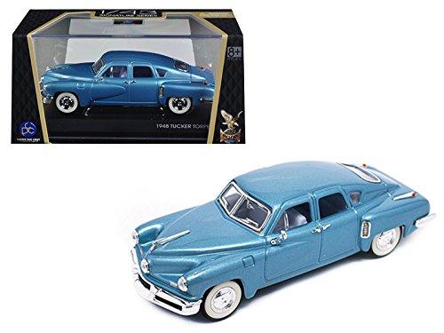 (Road Signature 1948 Tucker Light Blue Signature Series 1/43 Diecast Model Car by 43201-LBL)