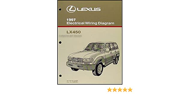 1997 lexus lx 450 wiring diagram manual original: lexus: amazon com: books