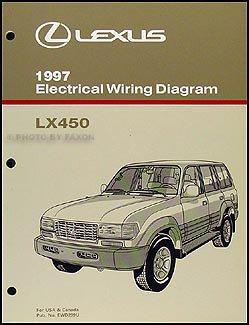 1997 lexus lx 450 wiring diagram manual original: lexus: amazon.com: books  amazon.com