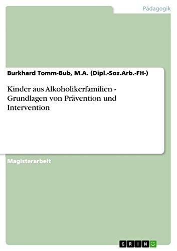 Download Kinder aus Alkoholikerfamilien – Grundlagen von Prävention und Intervention (German Edition) Pdf