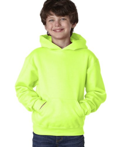Jerzees Youth 8 oz., 50/50 NuBlend Fleece Pullover Hood L SA