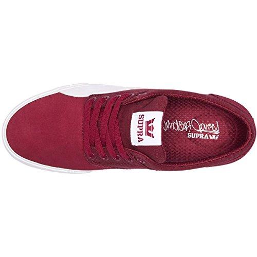 Supra Heren Chino Windsor James Signature Colorway Schoenen Donker Robijn-wit