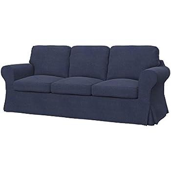 Amazon.com: Soferia - IKEA EKTORP 3-seat sofa cover, Nordic Denim ...