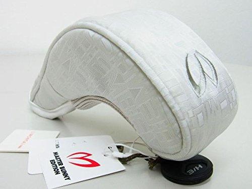申込みからに変化するウィンクMasterBunnyEditionマスターバニーPEARLYGATESパーリーゲイツ LIMONTA JQ UTヘッドカバーホワイト白 番手ナンバー付 158-7184055