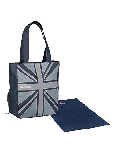 - Maclaren Magazine Tote, Union Jack Denim