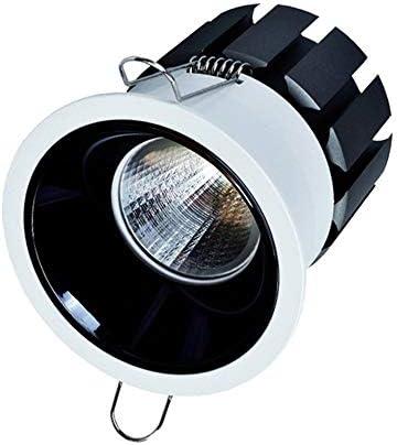 CYZMONI COB Ceiling Light Spotlight Die-casting LED Downlight Lamps Embedded Integrated Downlight Flush Supermarket Lighting Highlight Ultra-thin Does Not Hurt The EyesFixture Downlights