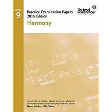 Practice Examination Papers 2016 Edition Level 9 Harmony