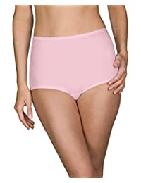 Shadowline Womens Plus-Size Spandex Classic Brief 3-Pack Briefs