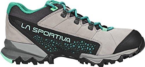 La Sportiva–Genesis GTX–Scarpe da trekking (Grigio/Verde) Grigio/Menta - grey/mint