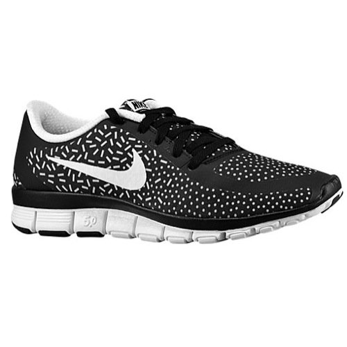 Nike Free 5.0 V4 Ns Pt Sz 5 Womens Running Shoes Black New In Box