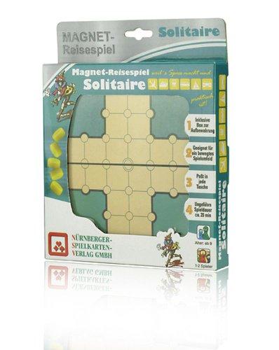 ++SOLITÄR+ Nürnberger Spielkarten Verlag++Neu** Magnet Reisespiel+