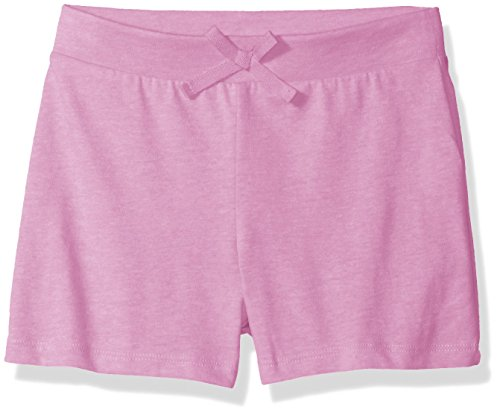 The Children's Place Big Girls' Solid Tassle Shorts, Neon Lilac, Medium/7/8
