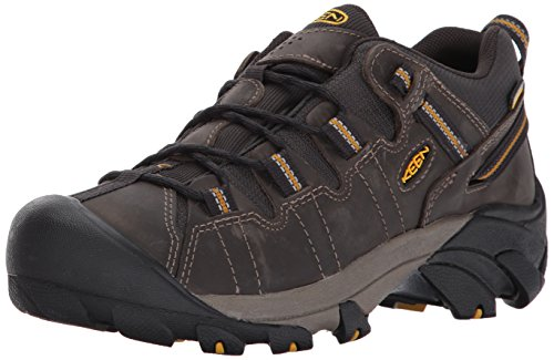 KEEN Men's Targhee II Hiking Shoe,  Raven/Tawny Olive - 12 D(M) US