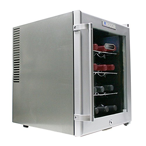 Whynter WC-16S SNO 16 Bottle Wine Cooler, Platinum with Lock by Whynter (Image #3)