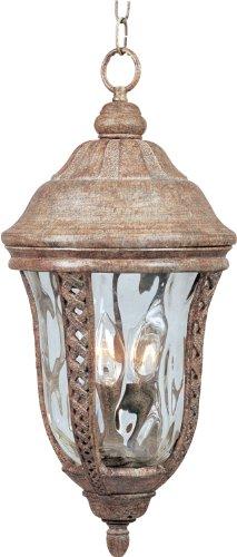 Whittier Hanging - Maxim Lighting 40210WGET Whittier VX 3-Light Outdoor Hanging Lantern Copper