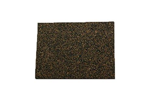 Cork Nature 620180 Superior Sealing Cork Rubber Sheet, 36'' x 36'' x 0.031''