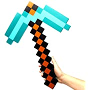 Exclusive Minecraft Foam Diamond Pickaxe