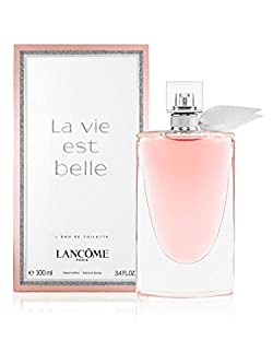 Lancome La Vie Est Belle L'Eau Eau De Toilette Spray, 3.4 Ounce