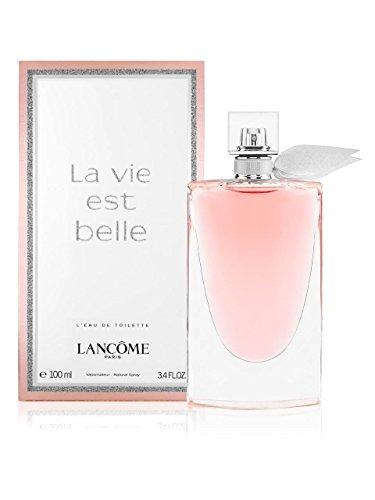 - Lancome La Vie Est Belle L'Eau Eau De Toilette Spray, 3.4 Ounce