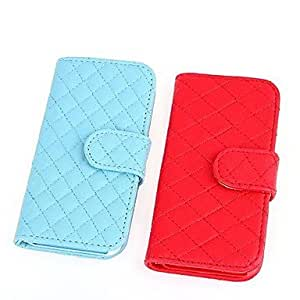 LZX Coway Lattice PU Leather Fashion Case for iPhone5/5S(Assorted Color)