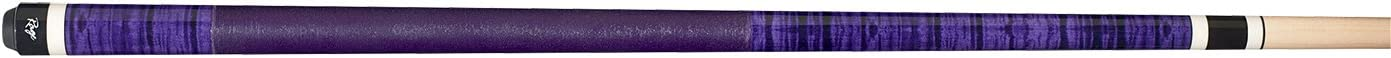 19-Ounce Rage RG-130 Graphic ICY Violet Curly Maple Cue