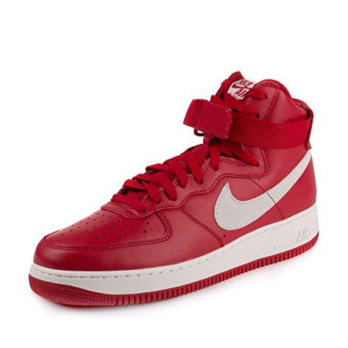 Nike Mens Air Force 1 HI Retro QS NAI Ke Gym Red/Summit White Leather Size 11 ()