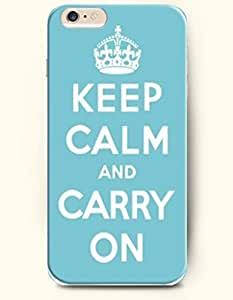 iPhone 6 Case,OOFIT iPhone 6 (4.7) Hard Case **NEW** Case with the Design of Keep calm and carry on - Case for Apple iPhone iPhone 6 (4.7) (2014) Verizon, AT&T Sprint, T-mobile