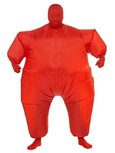 Men's Adult Inflatable Red Jumpsuit -