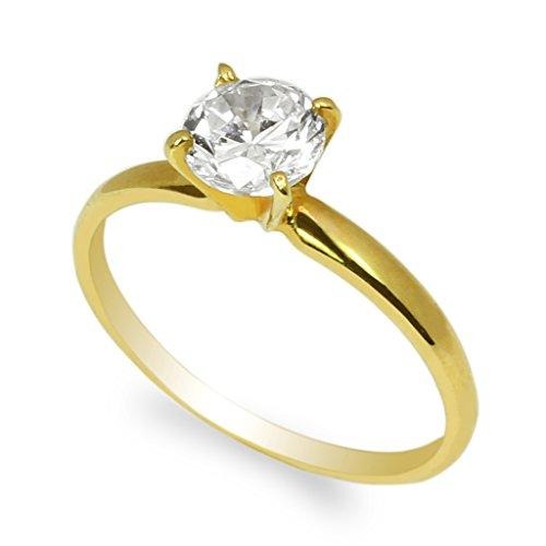 Yellow Gold Ladies Bridal Rings - 2