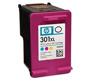 hp 301xl high yield tri colour original ink cartridge - Hp 301 Tri Color Ink Cartridge