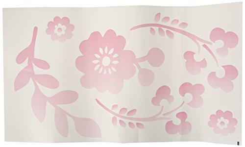 Lambs & Ivy Swan Lake Wall Appliques, Pink/White/Grey