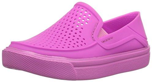 crocs Kids' Citilane Roka K Flat, Vibrant Violet, 6 M US Toddler
