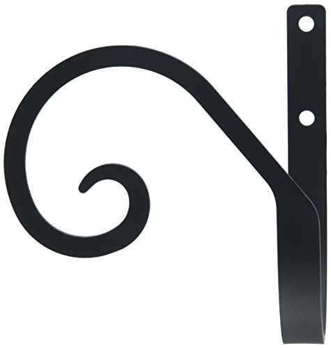 Wrought Iron Tie Backs - Village Wrought Iron 4 Inch Scroll Curtain Tie Backs
