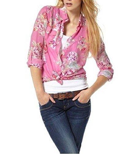 blusa camisa CAPRESE de ltb - fucsia, S