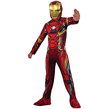 Rubies Costume Captain America: Civil War Value Iron Man Costume, Small