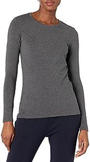 Amazon Essentials Women's Plus Size Long-Sleeve T-S