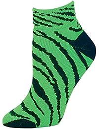 Zebra Stripe Anklet Socks. Style 7090AP