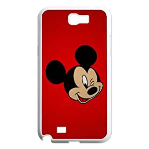 Disney Mickey Mouse Minnie Mouse Samsung Galaxy N2 7100 Cell Phone Case White Gift pjz003_3135215