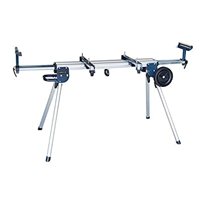 POWERTEC MT4004 Aluminum Miter Saw Stand with Wheels