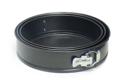 Cuisinox BKW-3 Spring Form Pans, 3-Piece, Black