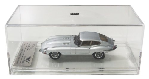 1/43 1961 ジャガーEタイプ シリーズ1 クーペ (シルバー) CDG052