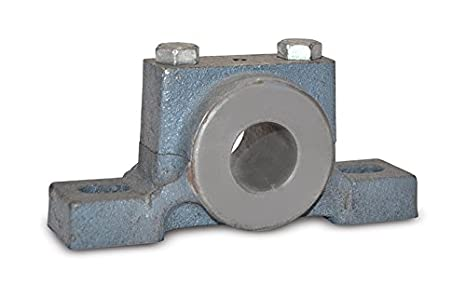 2 Bolt Holes Inch Light Duty Boston Gear PPB10 Pillow Block Housing Cast Iron 0.625 Bore Diameter
