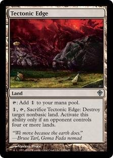 Magic: the Gathering - Tectonic Edge - (All Star Edge)