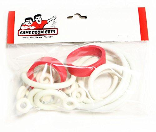 Bally Hang Glider Pinball White Rubber Ring Kit