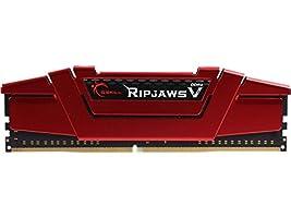 G.SKILL 8GB Ripjaws V Series DDR4 PC4-22400 2800MHz for Intel Z170 Platform Desktop Memory Model F4-2800C15S-8GVRB