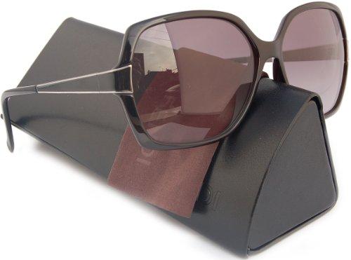 341d1514929 FENDI FS5330 Sunglasses Vintage Black w  Grey Gradient (001) 5330 001 59mm  Authentic - Buy Online in Qatar.