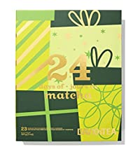DAVIDsTEA 24 Days of Matcha Advent Calendar 2021, Premium Matcha Sampler, Count Down to the Holidays with 24 Flavoured and Traditional Green Tea Powders, 325 g / 11.4 oz