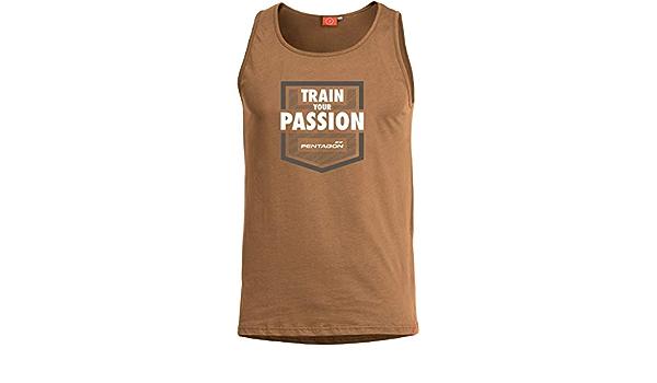 Pentagon Homme Astir D/ébardeur Train Your Passion Coyote